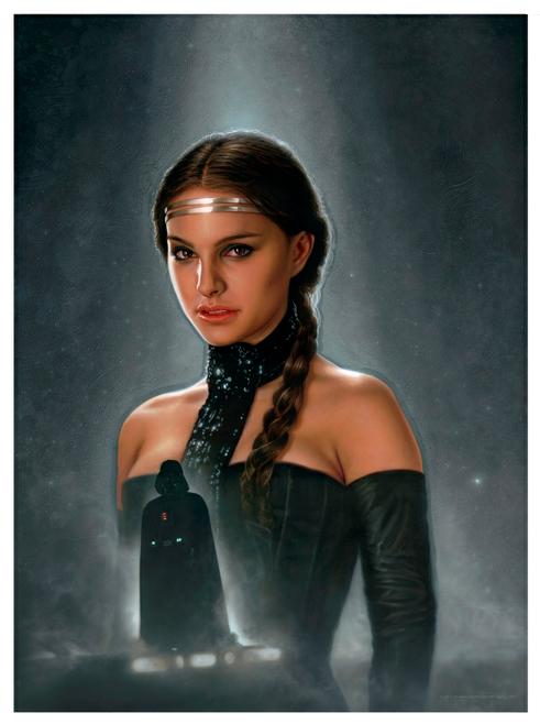 Anakin/Vader and Padme