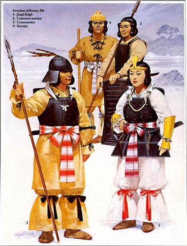 Ancient Japanese Clothing, Kofun (Yamato) Period (250 A.D. - 538 A.D.)