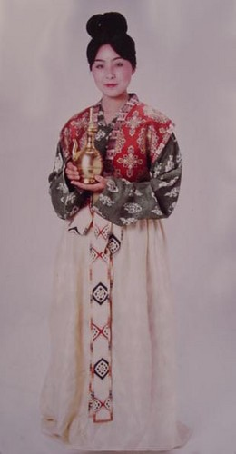 Ancient Japanese Women's Clothing, Nara Period (710 A.D. - 794 A.D.)
