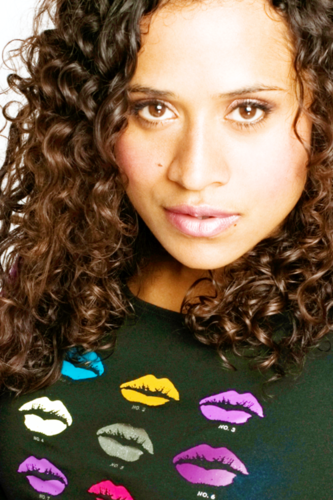 Arthur and Gwen wallpaper possibly with a sweatshirt, a hood, and a portrait titled Angel Coulby: Damn Girl You Are Hot