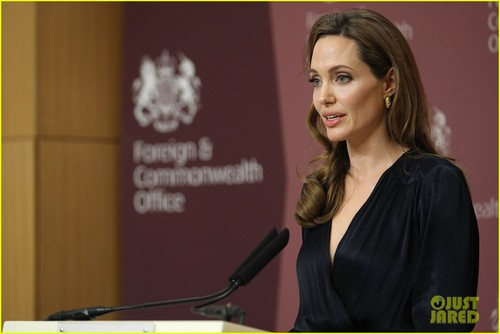 Angelina Jolie Helps Launch Fight Against Rape - angelina-jolie Photo