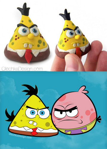 Angry Sponge Toy