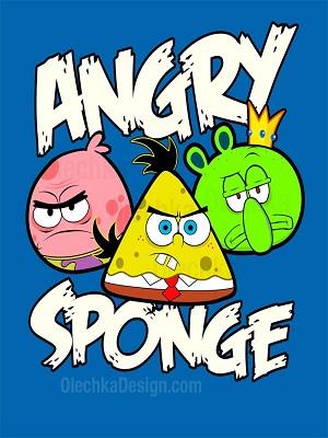 Angry Sponge!@