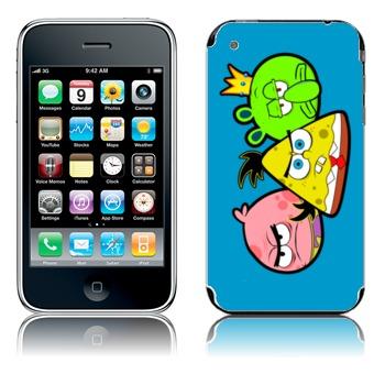 Angry Sponge iphone