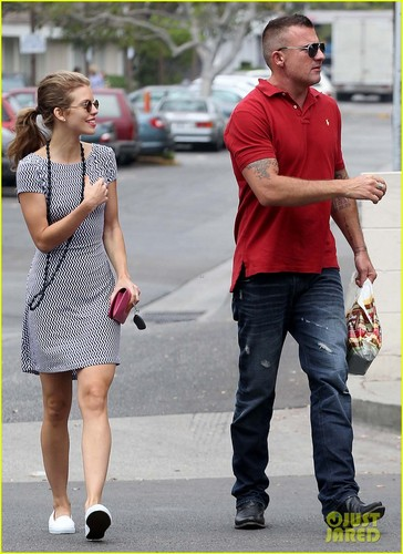 AnnaLynne and Dominic out and about in Los Angeles - 90210 Photo