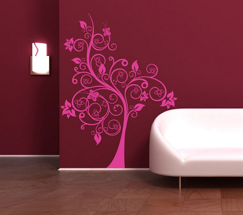 Arbor Magic flor mural Sticker