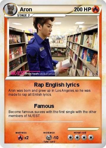 Aron pokecard!!!!!!!!!!!