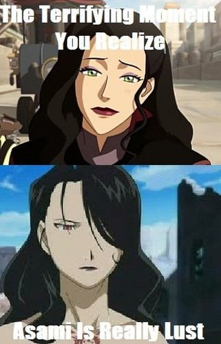 Asami is Lust? - avatar-the-legend-of-korra Fan Art