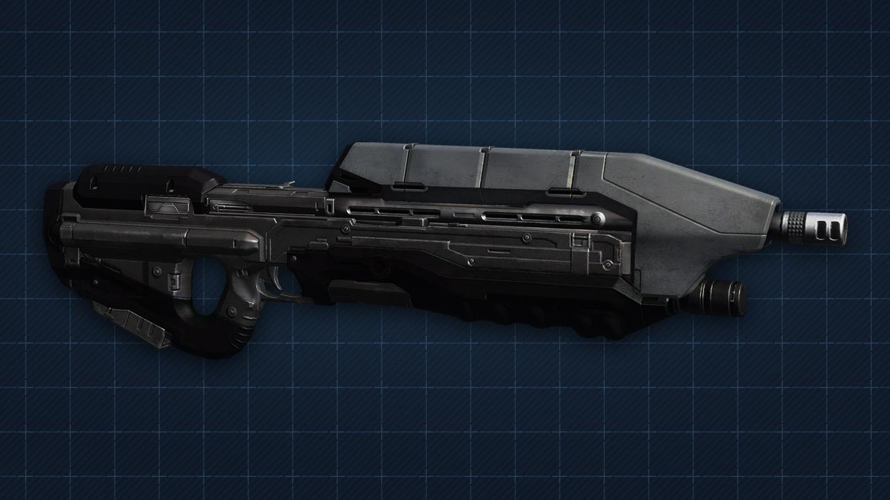 Halo 4 Assault rifle