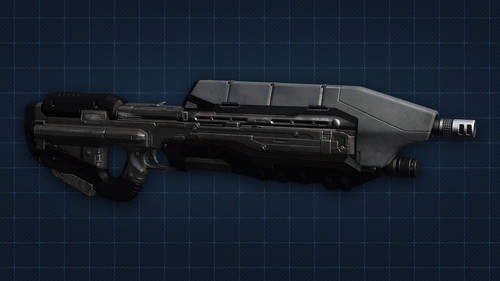 Halo 4 Assault rifle