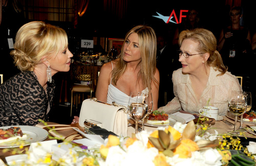Attends The 40th AFI Life Achievement Award Honoring Shirley MacLaine Held In Culver City [7 June]