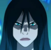 Azula with blue eyes
