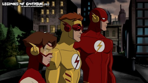 Young Justice OC'S!!! वॉलपेपर entitled BART ALLEN!!!! KID FLASH RETURNS!!!!! YJI EPISODE SIX!!!!!