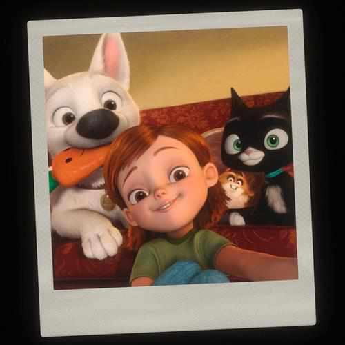 Disney's Bolt wallpaper entitled BOLT
