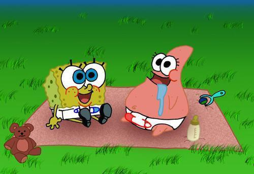 Baby spongebob and patrick - spongebob-squarepants Photo