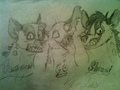 Banzai, Ed, and Shenzi‏ Drawing