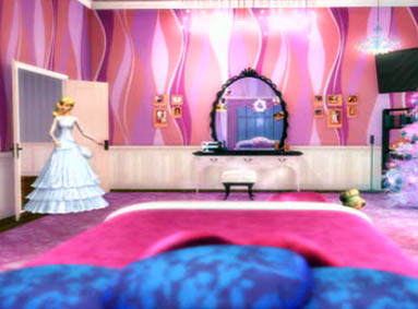 Beautiful Barbie In A Christmas Carol Images Barbie Entering Her Bedroom Wallpaper  And Background Photos