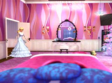 Barbie in a christmas carol images barbie entering her - Barbie living room dress up games ...
