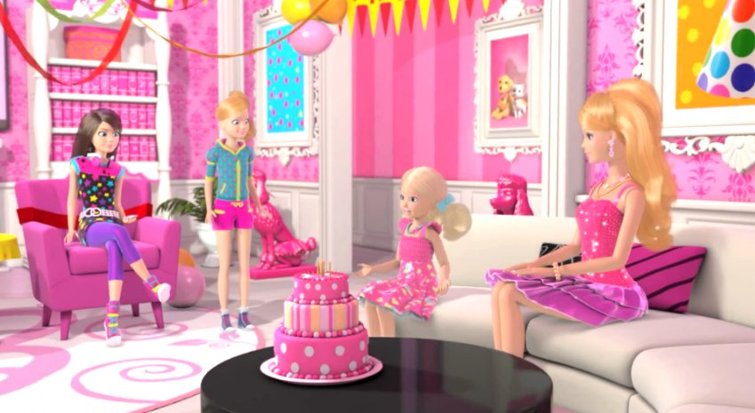 Magnificent Barbie Happy Birthday Wallpaper Djiwallpaper Co Home Interior And Landscaping Fragforummapetitesourisinfo