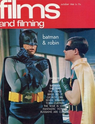 Batman &amp; Robin on magazine cover - batman-the-original-series Fan Art