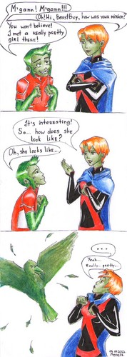 Beast Boy met... - young-justice Photo
