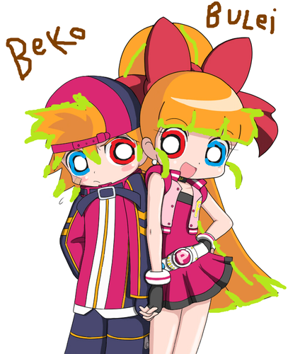 Beko and Bulei as Brick and Blossom