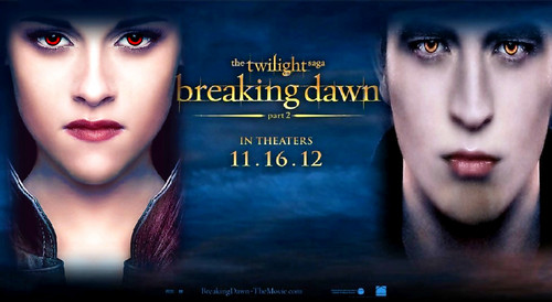Twilight Series wallpaper possibly containing a portrait called Bella & Edward BD Part 2 Wallpaper ♥