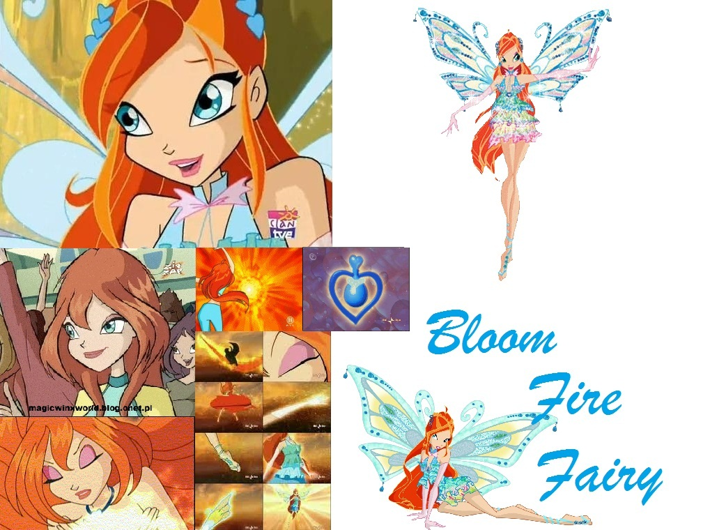 The winx club bloom