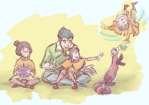 Bolin and the Air kids