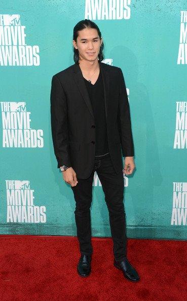Booboo Stewart at the mtv Movie Awards 2012