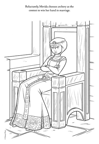 Brave new coloring pages