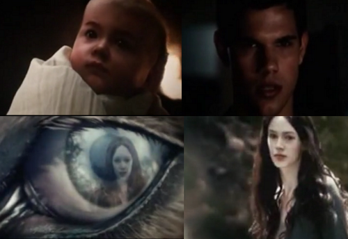 Breaking Dawn Part 1 - Jacob and Renesmee