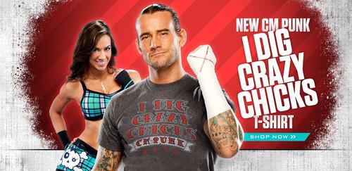 CM Punk and AJ Lee