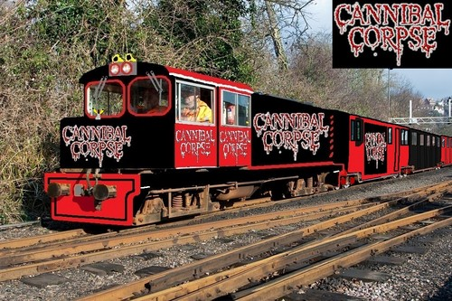 Cannibal Corpse Images Cannibal Corpse Train Hd Fond Décran And