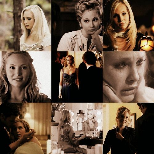 Caroline Forbes wallpaper containing a portrait called Caroline Forbes