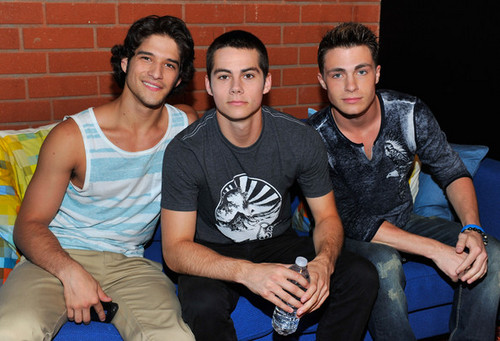 "Cast Of MTV's ""Teen Wolf"" Live Chat At Cambio Studios"