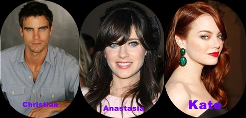 Cast *dream* of fifty shades