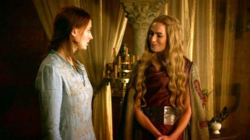 Cersei and Sansa
