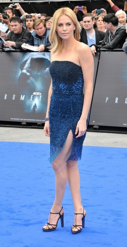 Charlize Theron at Prometheus Premiere in the UK