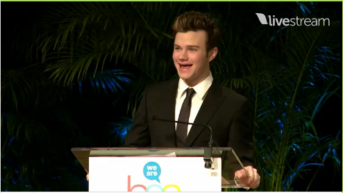Chris Colfer at the BEA Children's Breakfast