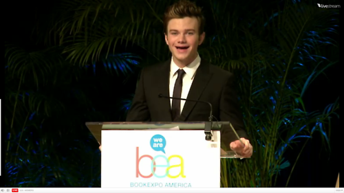 Chris Colfer at the BEA Children's Breakfast - chris-colfer Photo