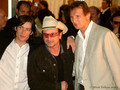 Cillian with Bono and Liam Neeson