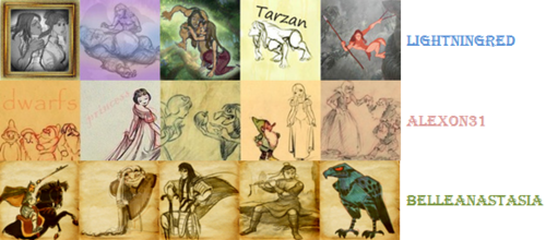 Classic Disney 20in20 Round 6 - Category icon sets: Concept art - classic-disney Photo