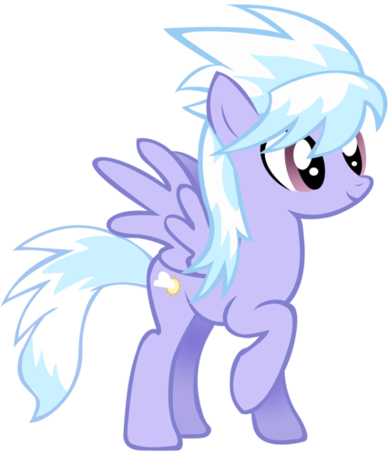 My Little pony Friendship is Magic achtergrond titled Cloudchaser
