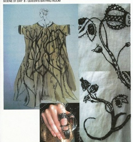 Colleen Atwood sketches