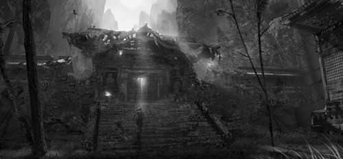 Concept Art - tomb-raider-reboot Photo