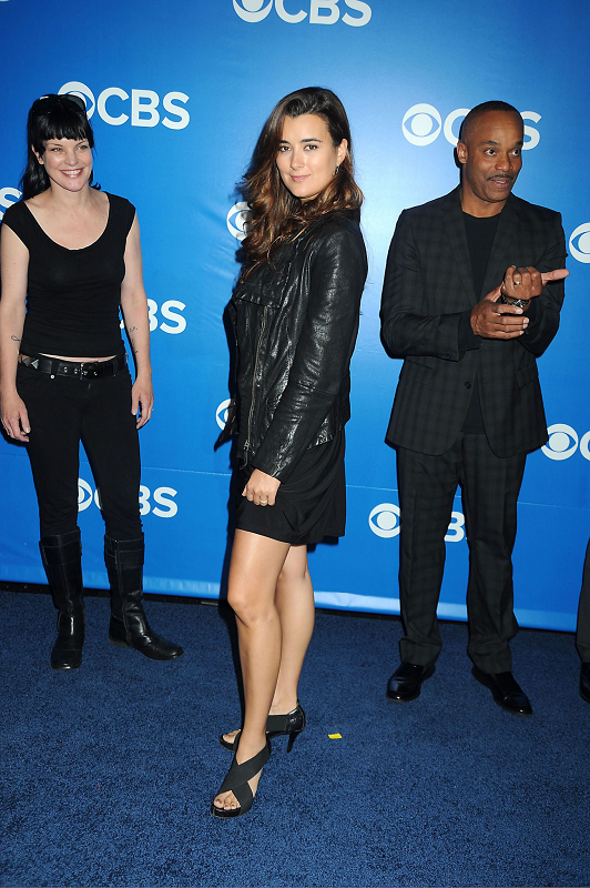 Cote de Pablo Cote - At the CBS Upfront in New York - May 16, 2012