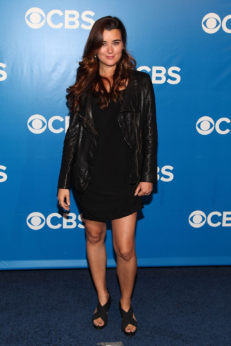 Cote - At the CBS Upfront in New York - May 16, 2012