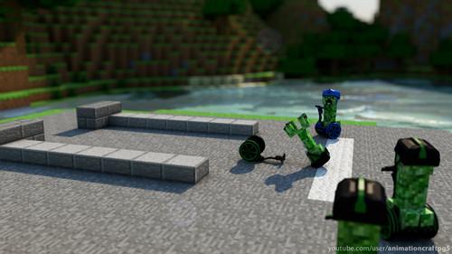 Creeper's revenge