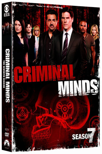 Criminal Minds Season 7 DVD Cover